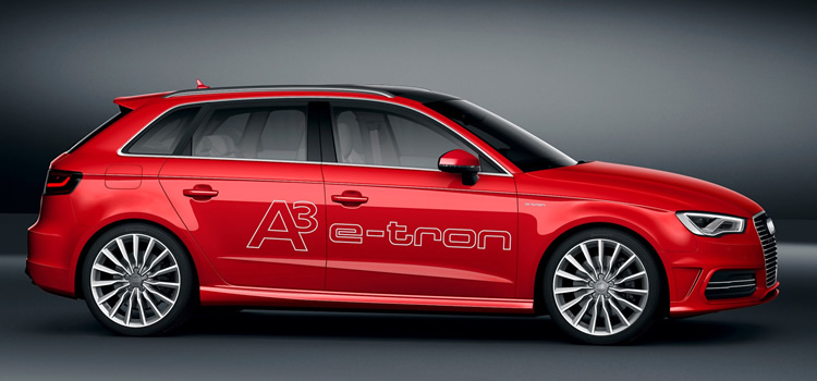 electric car Audi A3 e-tron Plug-In