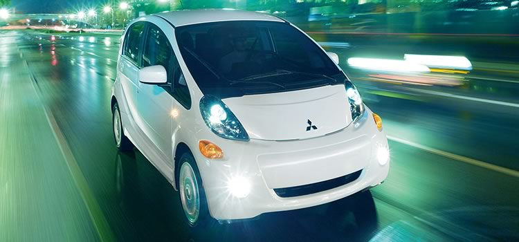 electric car mitsubishi i-miev
