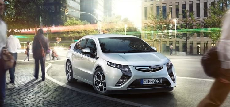electric car opel ampera
