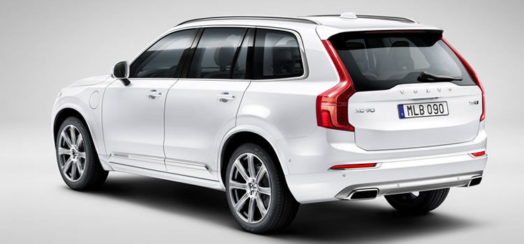 electric car Volvo XC90 Plug-In
