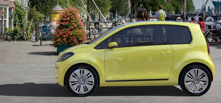 electric car vw e-up