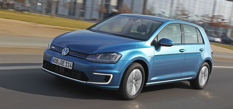 electric car vw golf